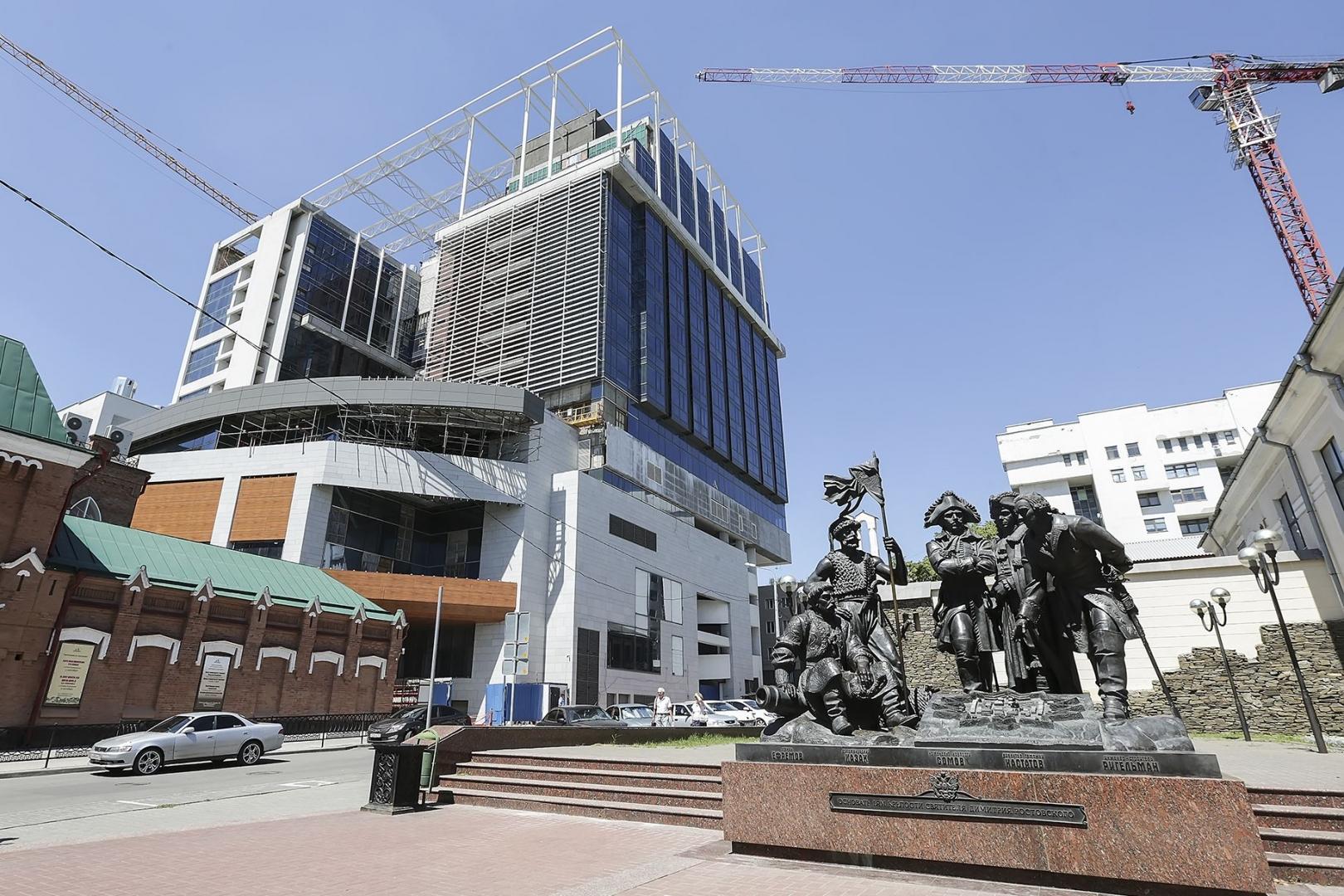 Строительство гостиницы в Ростове-на-Дону