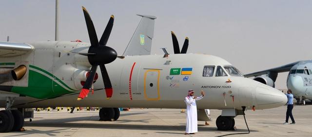 Самолет Ан-132D производства ГП «Антонов»
