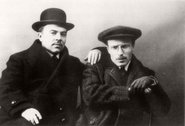 П. В. Кузнецов и А. Т. Матвеев. 1909 — 1910