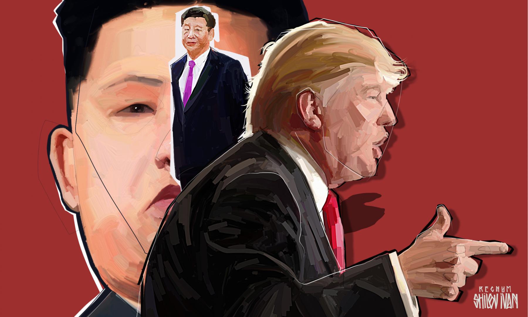 США, КНДР и Китай