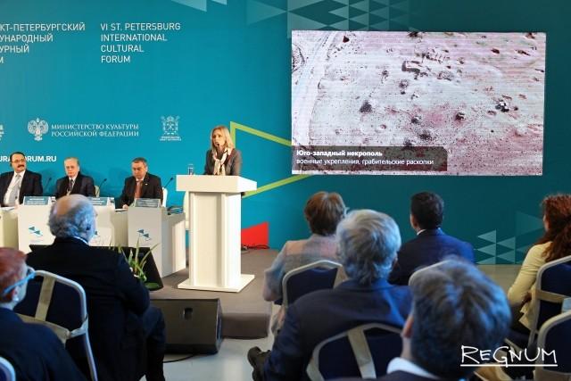 Россия передала Сирии 3D-модель Пальмиры