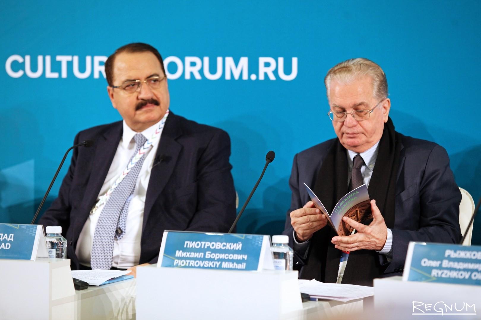 Риад Хаддад и Борис Пиотровский