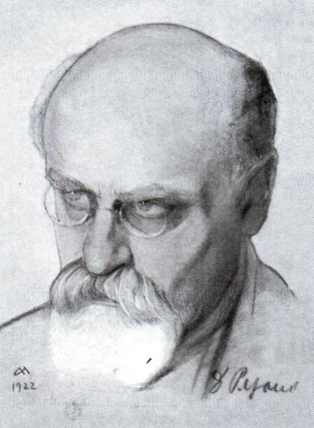 Николай Андреев. Давид Рязанов. 1922