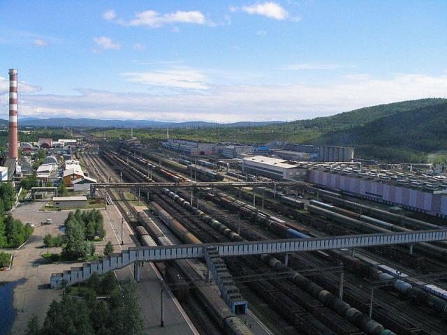 БАМ. Станция Тында