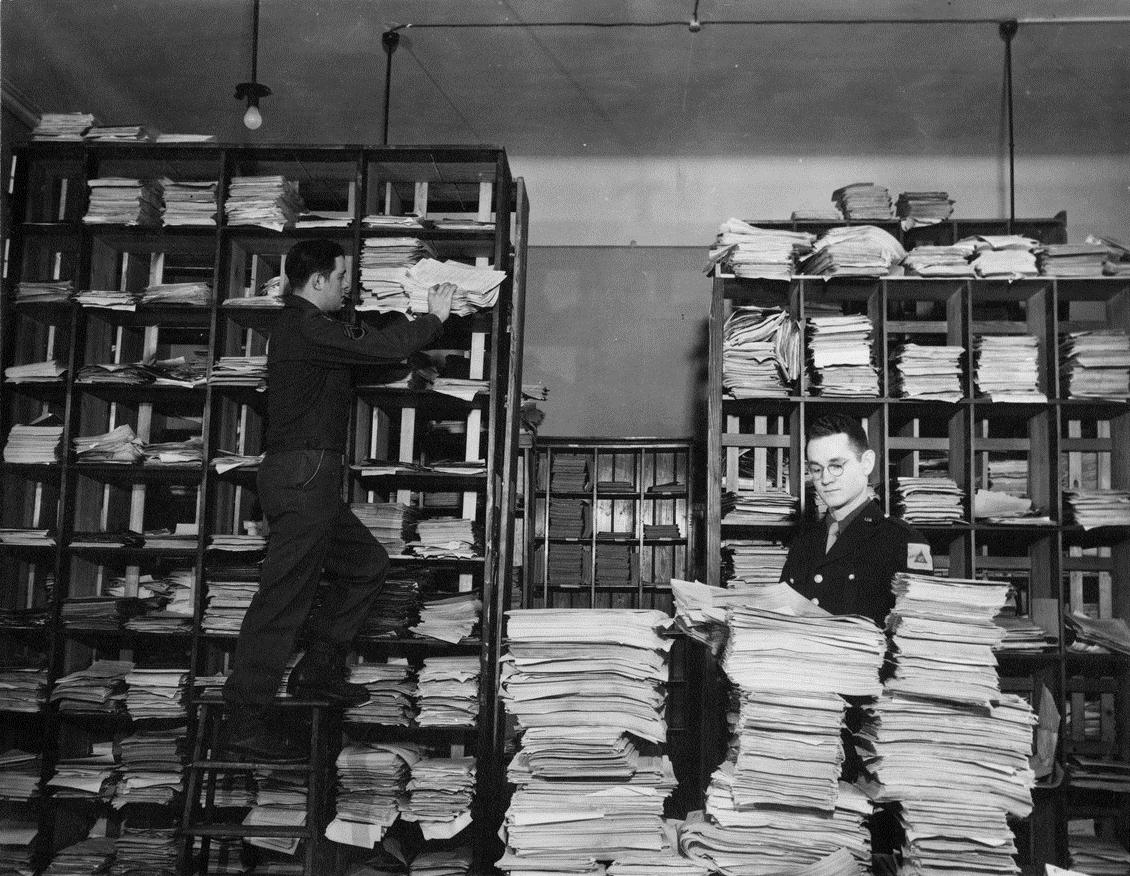 Архив документов на Нюренбергском процессе