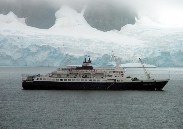 Корабль-призрак «Любовь Орлова» прибило к берегу в США
