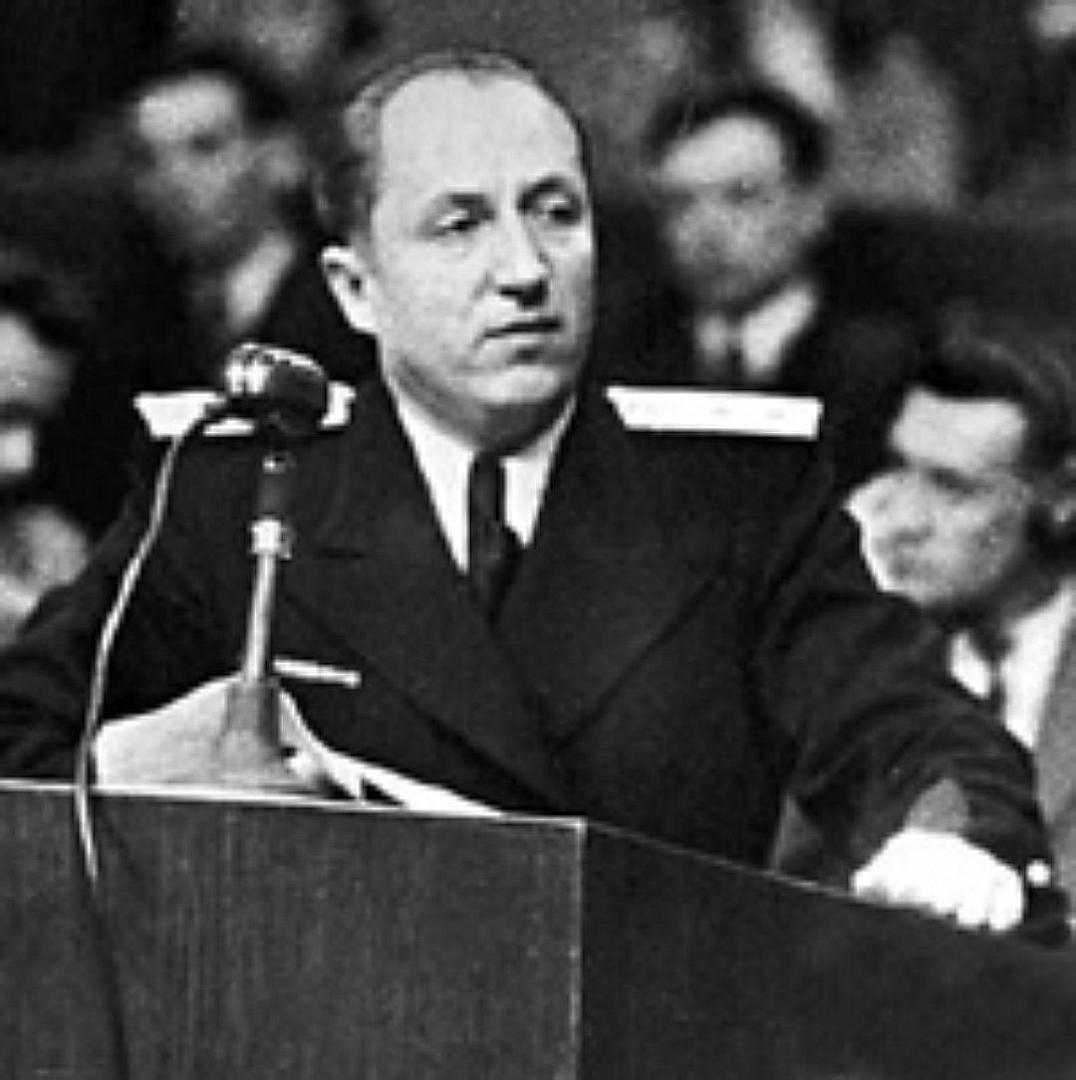 Выступление Романа Андреевича Руденко на Нюрнбергском процессе