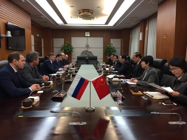 Алтайская делегация и представители генерального консульства РФ в Шанхае