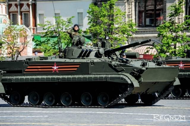 Парад Победы в Москве. 9 мая 2016 года