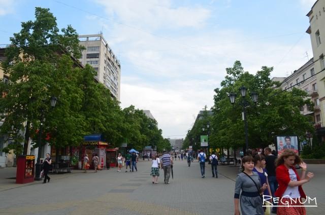 Бульвар в Челябинске