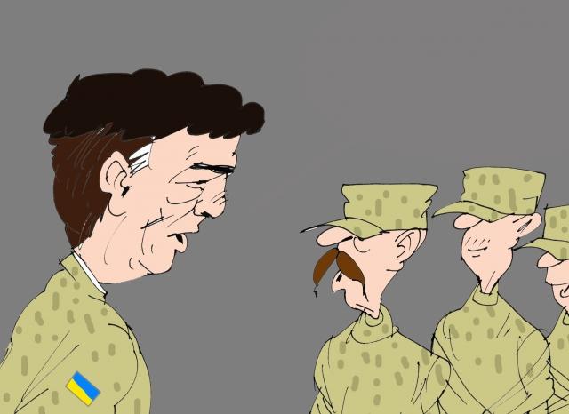 Киев заявил о входе в ЛНР российских военных и танков