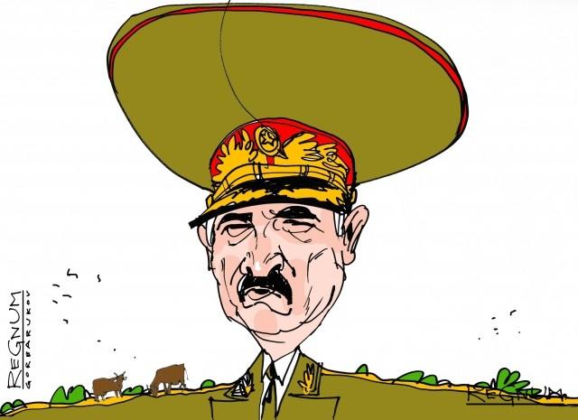 Необандеровцы сорвали визит Лукашенко в Брюссель