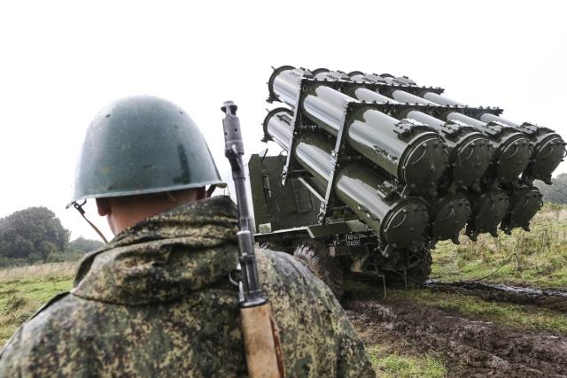 Боевые стрельбы ракетчиков Балтийского флота в рамках учения «Запад-2017»