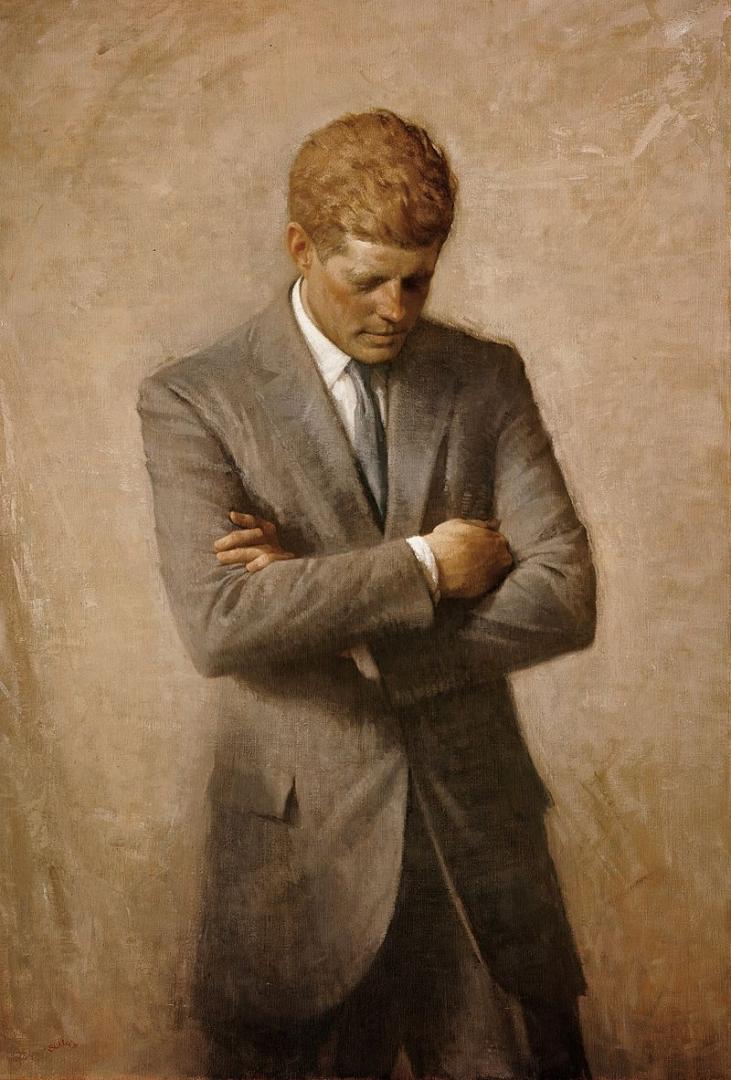Аарон Шиклер. Официальный портрет Джона Кеннеди. 1970