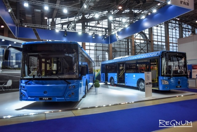 В Москве представили новую модель городского электробуса — фоторепортаж