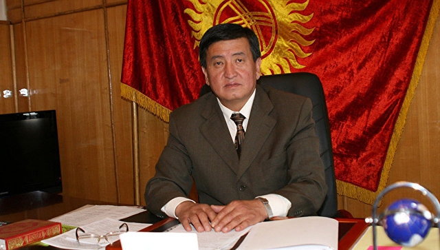 Сооронбай Жээнбеков вступил в должность президента Киргизии