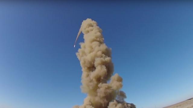 Россия испытала новую противоракету — видео