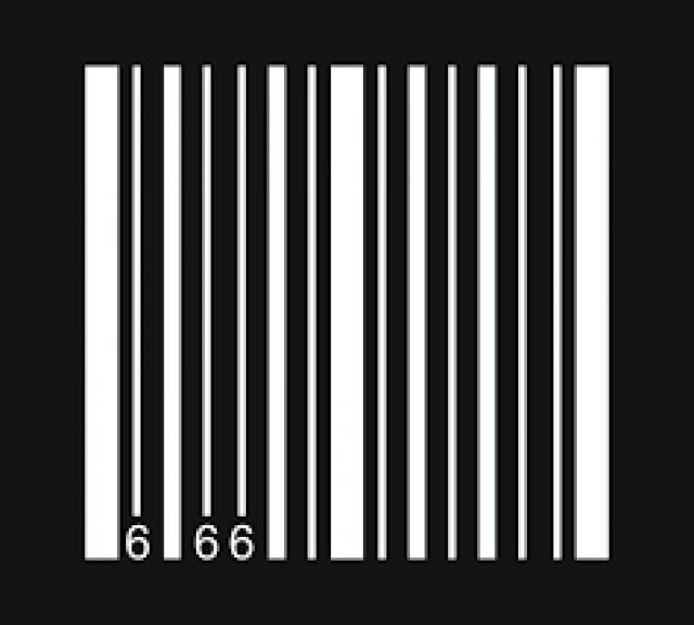 Штрих код 666