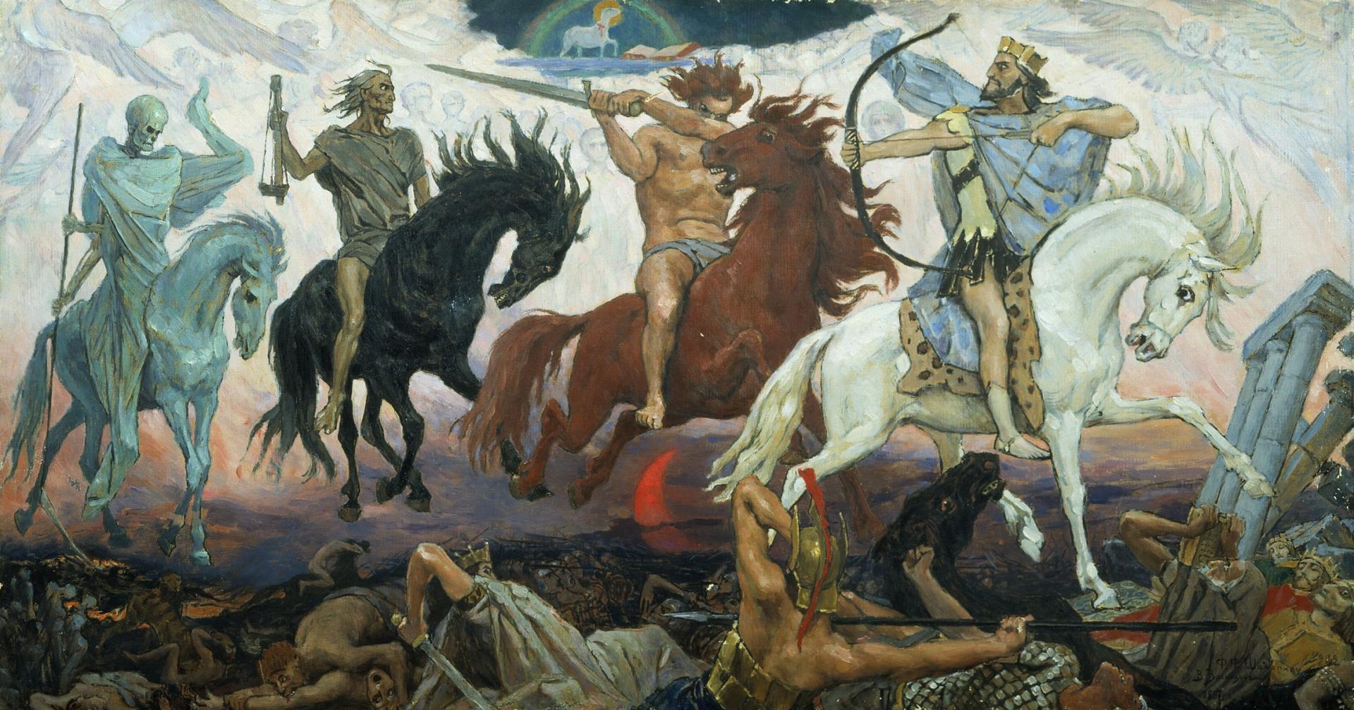 Виктор Васнецов. Воины Апокалипсиса. 1887