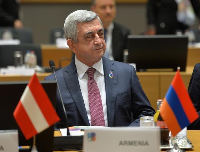 Армения сближает различные интеграционные структуры: Саргсян
