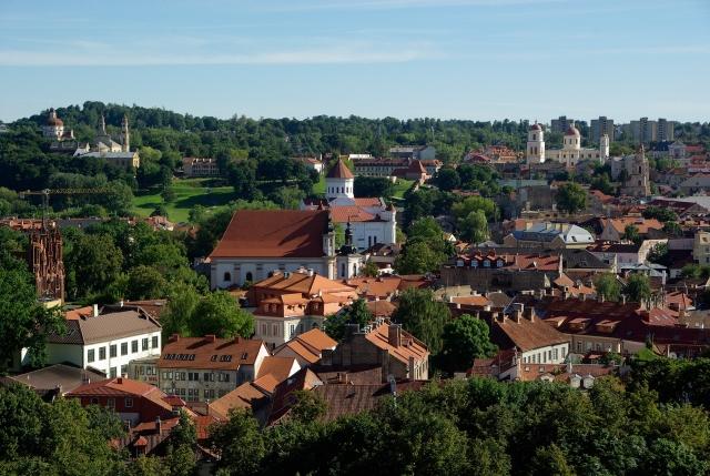 Туристы из России в Вильнюсе – среди лидеров