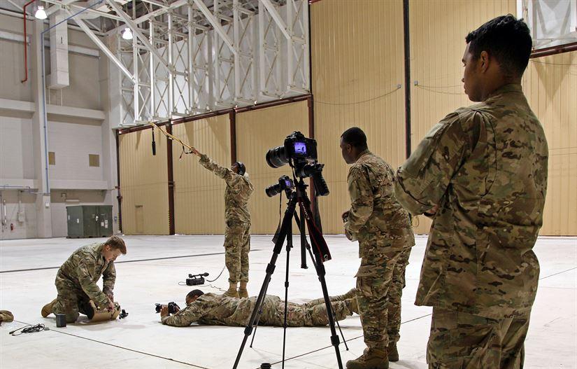 Подразделение информационной войны армии США в действии