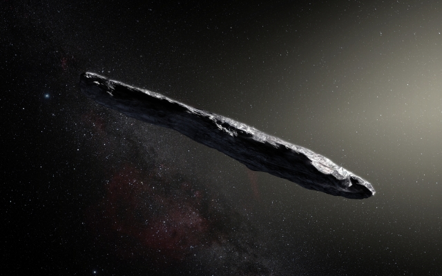 Ученые предложили догнать межзвездный астероид «Оумуамуа»