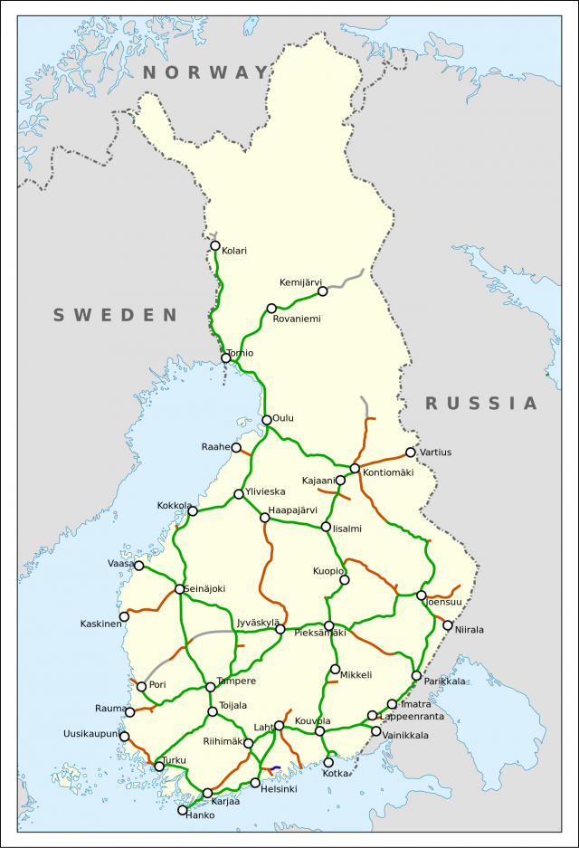 «Минус Мурманск»: как железная дорога из Финляндии ушла в Норвегию