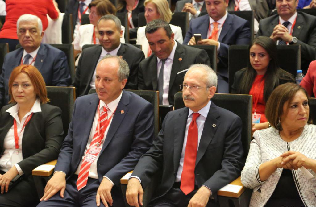 Лидер оппозиционной Народно-республиканской партии (НРП) Кемаль Кылычдароглу