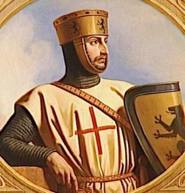 Роберт II Фландрский. Участник первого крестового похода