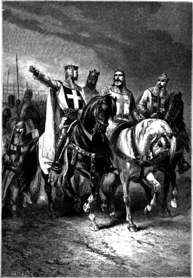 Гуго Вермандуа был одним из вождей Первого крестового похода