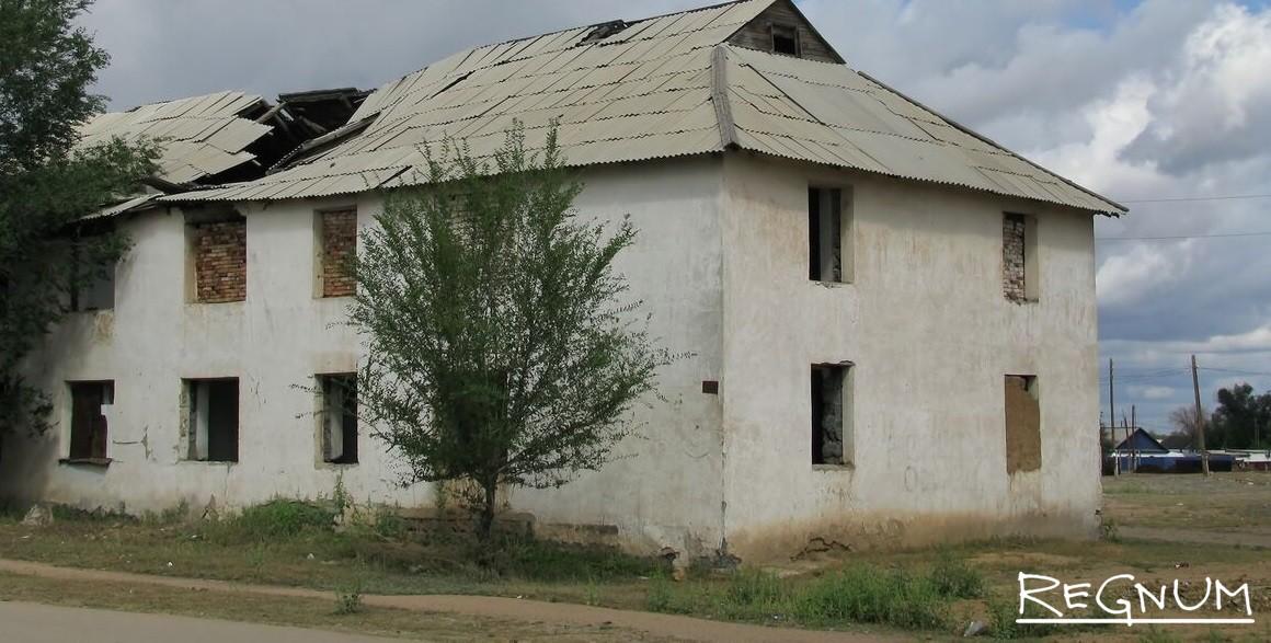 20 лет без СССР. Жилой дом г Карабутак Актюбинская область. Казахстан