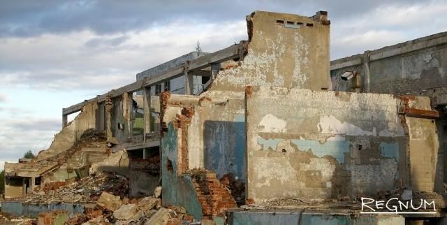20 лет без СССР. Руины воинской части 3745. Россия