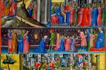 Резня во время штурма Иерусалима в 1099 году. Миниатюра, XIII век