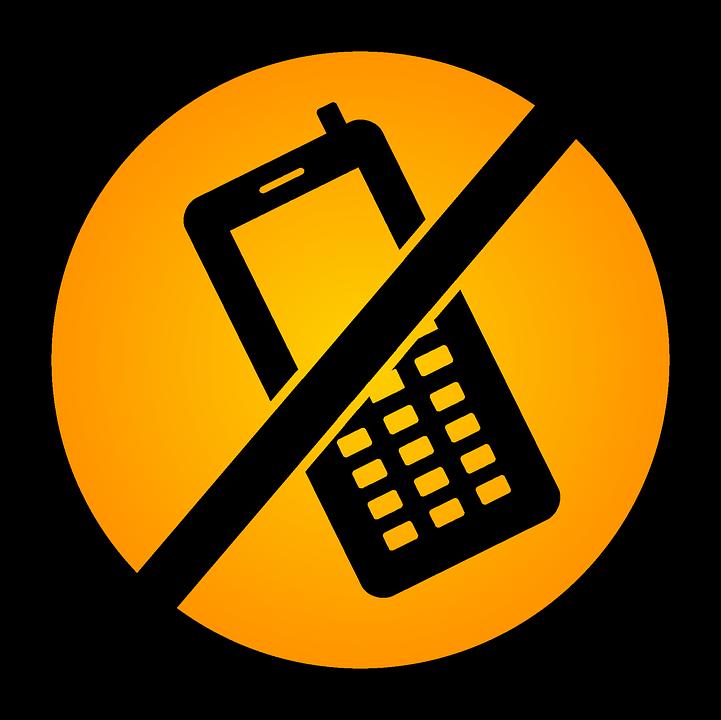 Мобильный телефон запрещен картинка