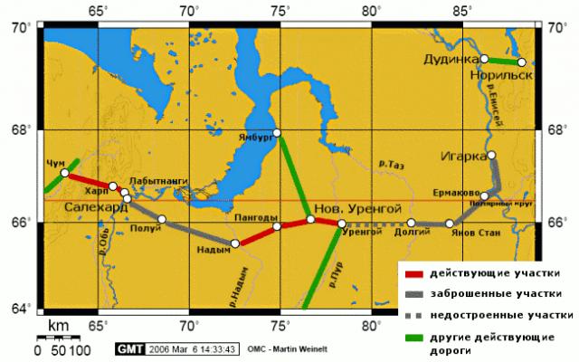 Трансполярная магистраль