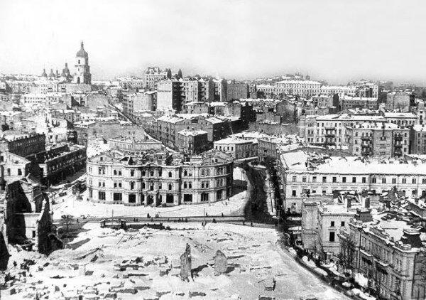 Майдан в составе единой Европы Киев в 1943 году