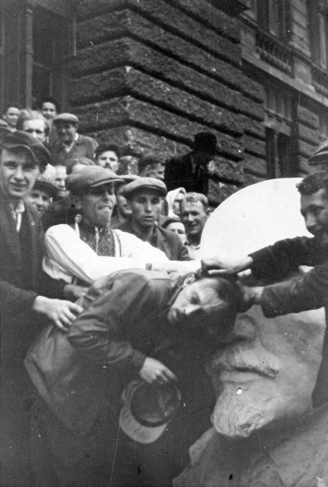 Еврейский погром на оккупированной у Советского Союза территории. 1941