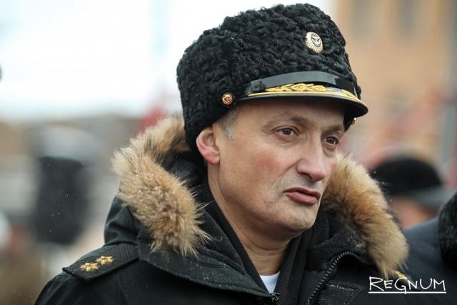 Вице-адмирал Виктор Бурсук