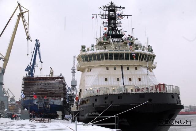 Ледокол «Илья Муромец» принят в состав ВМФ России