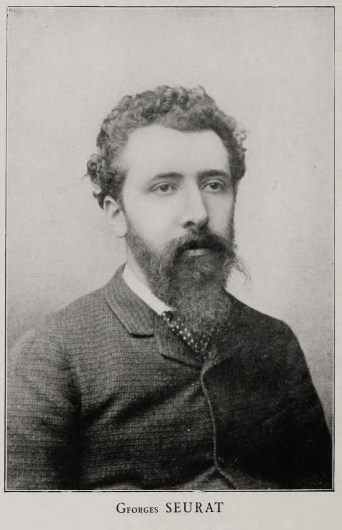 Жорж-Пьер Сёра. 1888. Фотография