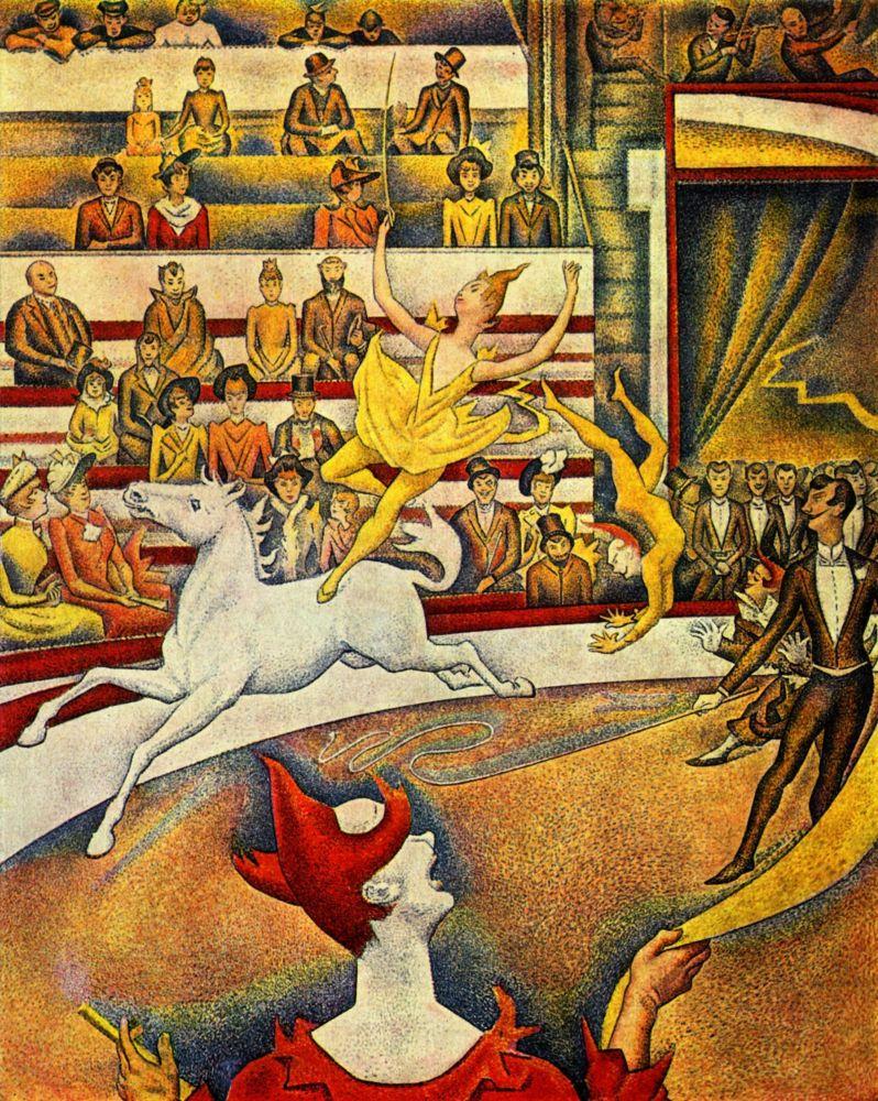 Жорж-Пьер Сёра. Цирк. 1891