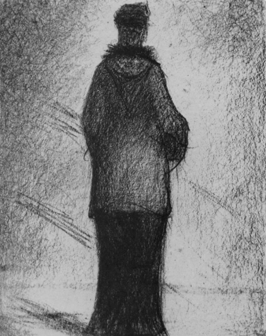 Жорж-Пьер Сёра. Капюшон. 1881