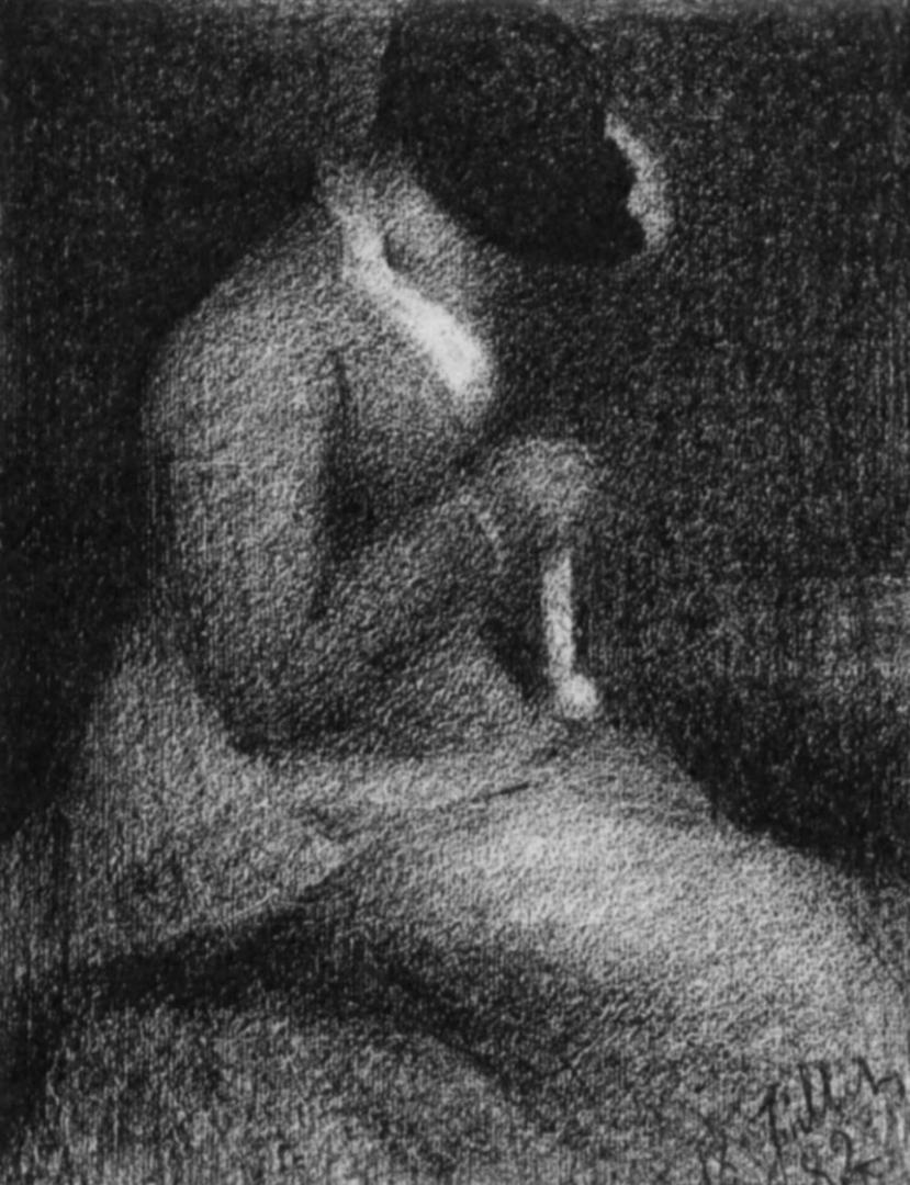 Жорж-Пьер Сёра. Вязанье. 1882