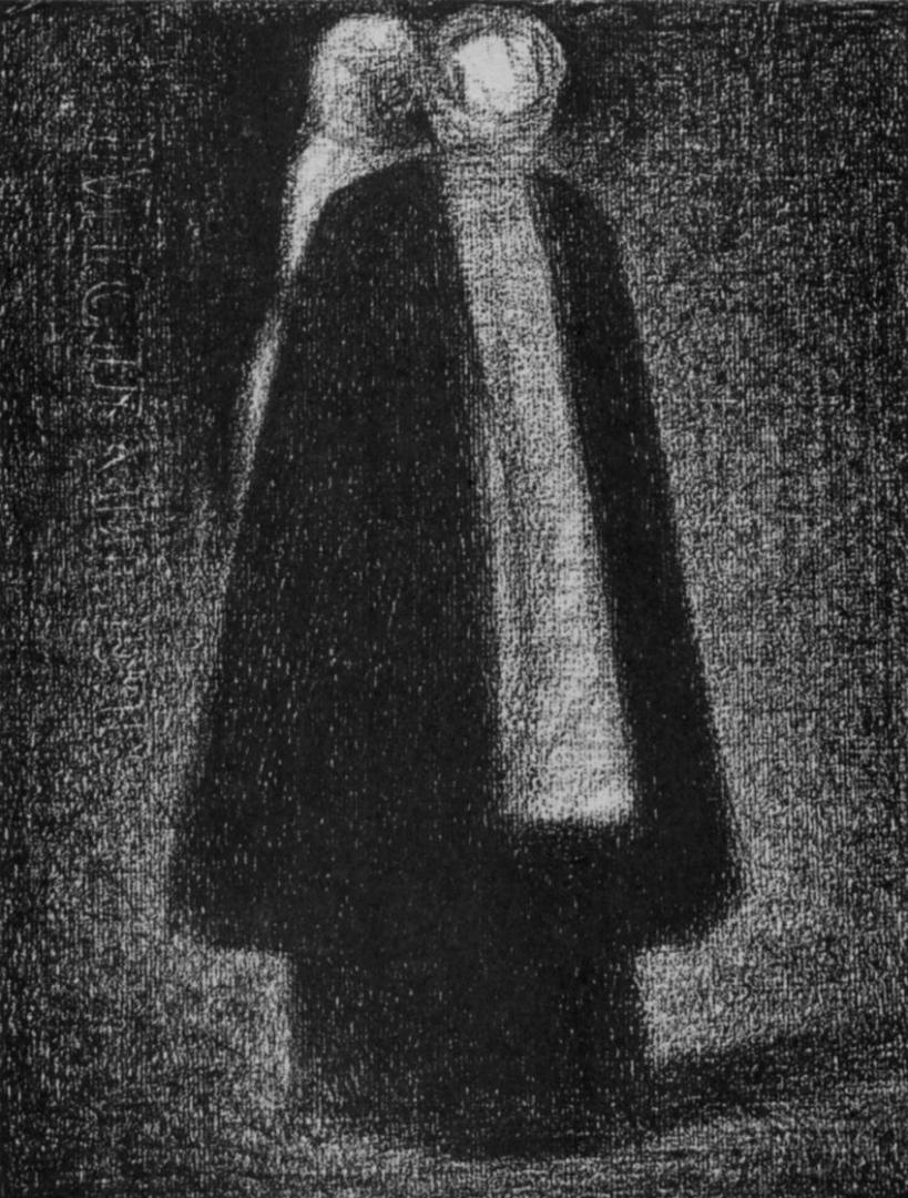 Жорж-Пьер Сёра. Кормилица. 1882