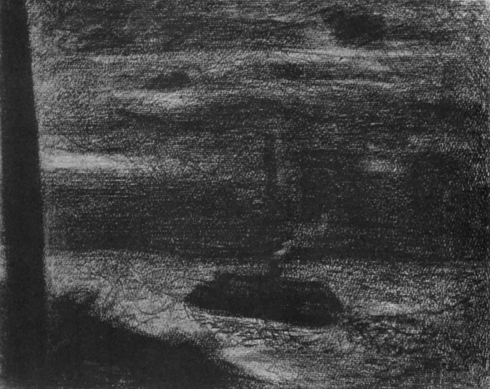 Жорж-Пьер Сёра. Пароход. 1883