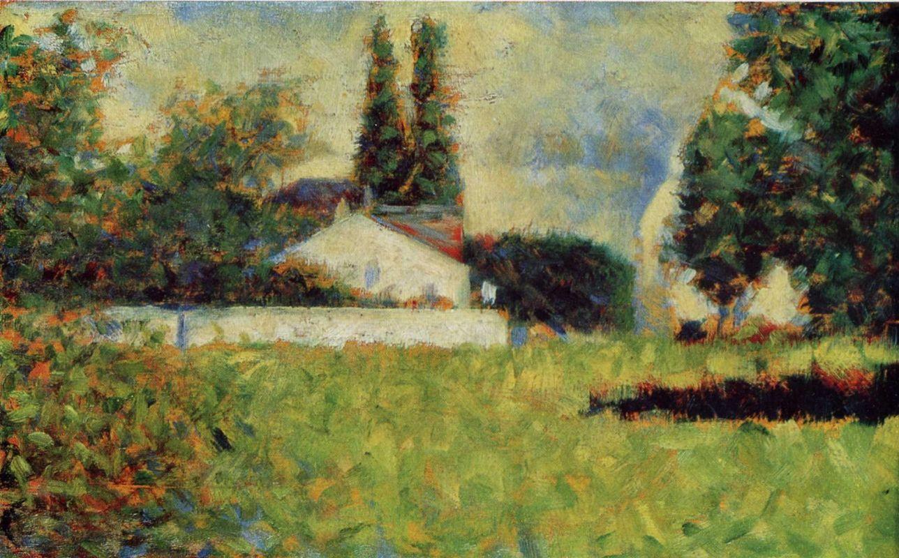 Жорж-Пьер Сёра. Сад. 1883
