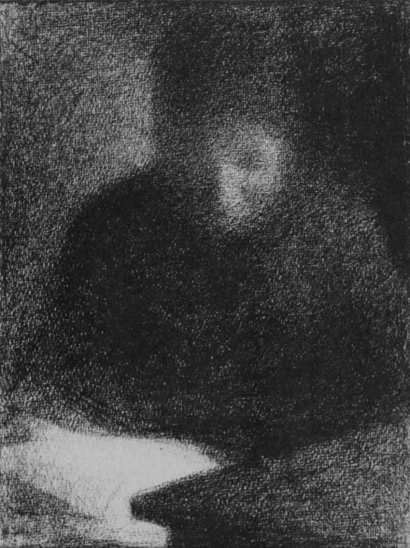 Жорж-Пьер Сёра. Читающая женщина. 1883