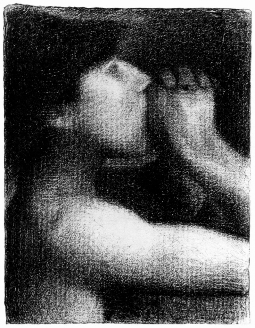 Жорж-Пьер Сёра. Кричащий. 1884