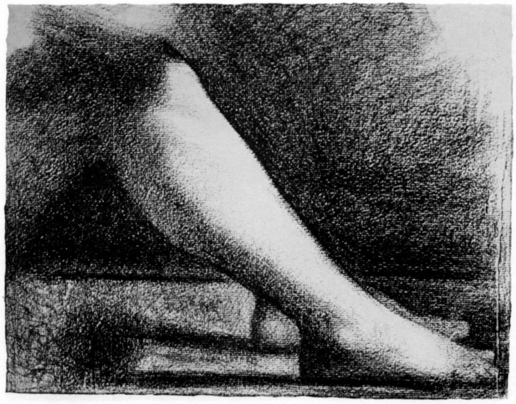 Жорж-Пьер Сёра. Нога. 1884